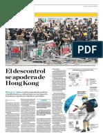 El Descontrol Se Apodera de Hong Kong