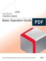 Canon ImageRunner C2020/2030 Basic Operation Guide