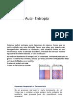 Aula de Termodinâmica Entropia (1)
