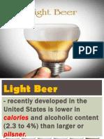 Bartending Light Beer