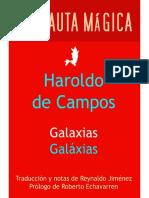 Campos, Haroldo de - Galaxias (Portada)