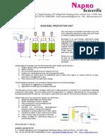 Biodiesel Laboratory Unit