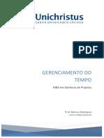 Slides MBA Unichristus Tempo TurmaXIII