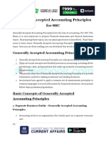 Generally Accepted Accounting Principles Testbook 1