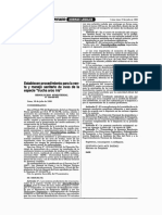 RM. 226-99-PE Procedimiento sanitario de ovas