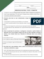 AVALIAÇAO INT. 2ª TRIMESTRE - Históriaa.doc