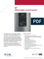Eaton Fire Addressable Control Panel Fx2000 Datasheet v1 1118