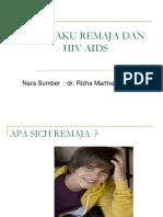 Kenakalan Remaja+HIV