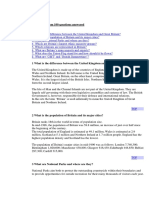 United Kingdom 100 Questions Answered
