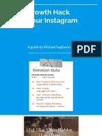 growth hack your instagram