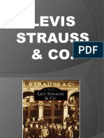 Levis Strauss Power Point Presentation