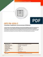 Controlador Amplificador Convencional Para Autofalante