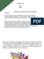ACTIVIDAD # 3 INDICADORES DE GESTIÓN