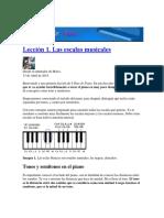 Curso de Pianoleción 1