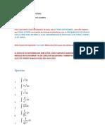Ejercicios de Calculo Integral - Junio