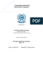 Bhavik Yadav Internship Report
