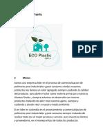 Empresa eco plastic.docx