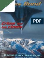 28 Crimes Sur Les Cimes - James Bond - Raymond Benson