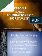 Basic Foundations of Spirituality