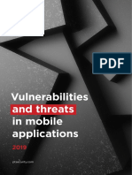 Mobile Application Vulnerabilities and Threats 2019