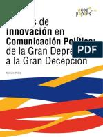 Relatos de innovación en Comunicación Política
