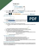 Apuntes Para Word 2013