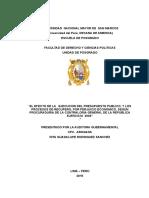Procesos de Recupero, Por Perjuicio Economico, Procuraduria de La Contraloria General de La Republica Ejercicio 2004