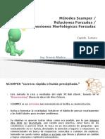 Métodos Scamper - -Relaciones Forzadas -- Conexiones Morfológicas Forzadas