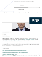 Macri Anuncia Corte de Impostos e Subsídio a Pobres Após Derrota Eleitoral Na Argentina