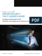 Dellemc End to End Server Security Guide