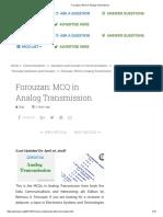 Forouzan_ MCQ in Analog Transmission.pdf