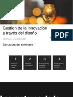 Gestion innovacion y diseño