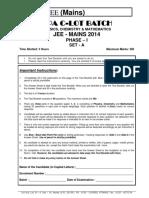 Sample Paper Class 12pass