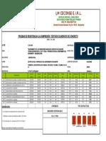 Roptura de Probetas de Concreto 25-04-2019