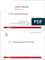 Food Cooling and Freezing
