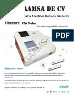 GAAMSA Brochure FineCare Wondfo 2018