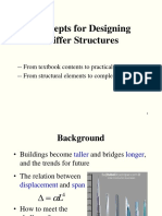 concepts for designing stiffer structures