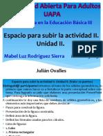 Informe II Matematica en La Educacion Basica III