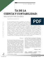 Filosofia de La Ciencia y Contabilidad r