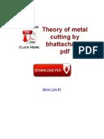 Metal cutting
