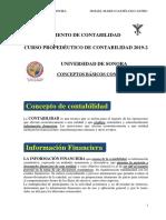 Conceptos Básicos Contables 2019-2