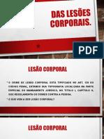 Lesão Corporal