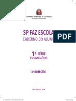 Caderno do Aluno SP faz Escola  1ªEM COMPLETO