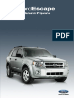 Ford Escape Manual