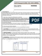 Statistics Class IX