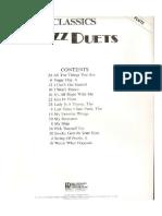 Jazz Flute Duets Arraingments