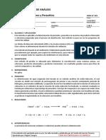 MDA001 Determinación de Peroxido y Peracetico