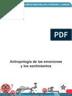 ANTROPOLOGÍA DE LAS EMOCIONES