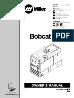 Miller Bobcat 225 Users Manual