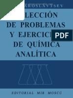 Colección de Problemas de Química Analítica - A. a. Yaroslávtsev - 1ed